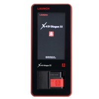 Original Launch X-431 X431 DIAGUN III Bluetooth Update Online with Multi-language
