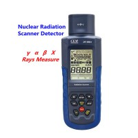 CEM DT-9501 Nuclear Radiation Scanner Detector Large LCD Display γ α β X Rays Measure High Precision