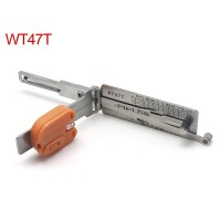 Auto Smart WT47T 2in1 Decoder and Pick Tools( Suitable for SAAB)