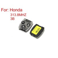 Remote Key for Honda Civic 3 Button 313.8MZH