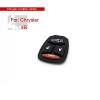 Rubber for Chrysler 4 Button 10pcs/lot