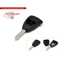 Remote Key Shell 3 Button for Chrysler 5pcs/lot