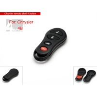 Remote Shell for Chrysler 4 Button 10pcs/lot