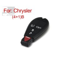 Smart Key Shell for Chrysler 4+1 Button