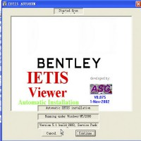 Repair Workshop Service Manual EPC ASSIST IETIS 2010 for Bentley Work on Windows XP/7