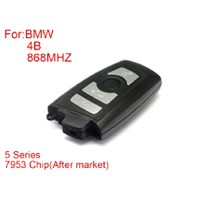 BMW CAS4 F Platform 5 Series Remote Key 4 Buttons 868MHZ 7953Chip Black Side