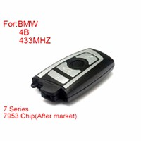 BMW CAS4 F Platform 7 Series Remote Key 4 Buttons 433MHZ 7953Chips Silver Side