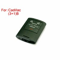 Cadillac Remote Key Shell (3+1) Buttons