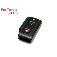 Toyota Prius Remote Key Shell 2+1 Buttons