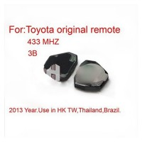 Toyota Remote 3 Button 433MHZ Free Shipping
