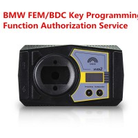 BMW FEM/BDC Key Programming Function Authorization on Xhorse VVDI2 Commander(With iKeycutter CONDOR XC-MINI)