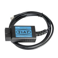 Fiat Scanner OBD2 EOBD USB Diagnostic Cable Free Shipping