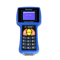 T300 Key Programmer Spanish V2017.17.8 Blue Hand-held Key Maker