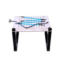 (Ship from US) LED BDM Frame with Mesh and 4 Probe Pens for FGTECH BDM100 KESS KTAG K-TAG ECU Programmer Tool