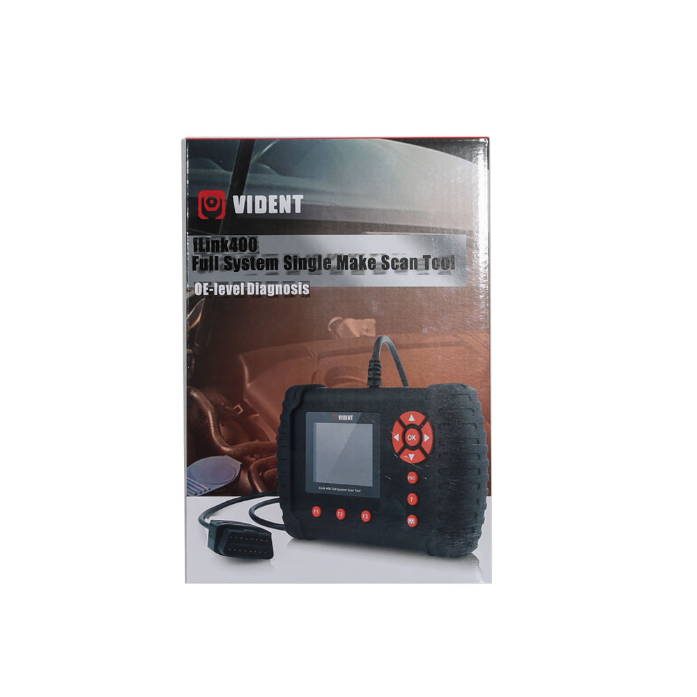 (Ship from US) VIDENT iLink400 GM Chevrolet Cadillac Buick Vident Scan Tool  iLink400 Diagnostic Scanner Code Reader Support Multi-languages