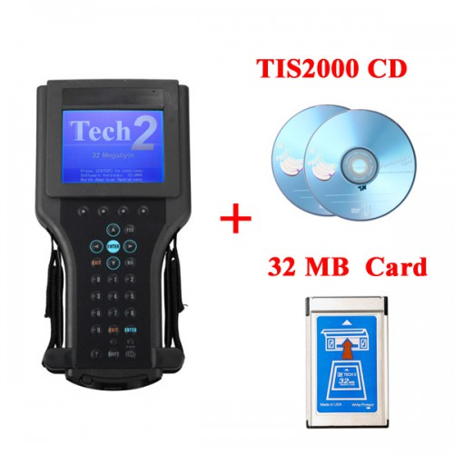 【Ship from UK】GM Tech2 Diagnostic Scanner For GM/ Opel/ Suzuki/ Isuzu/ Saab/ Holden with TIS2000 Software in CartonBox