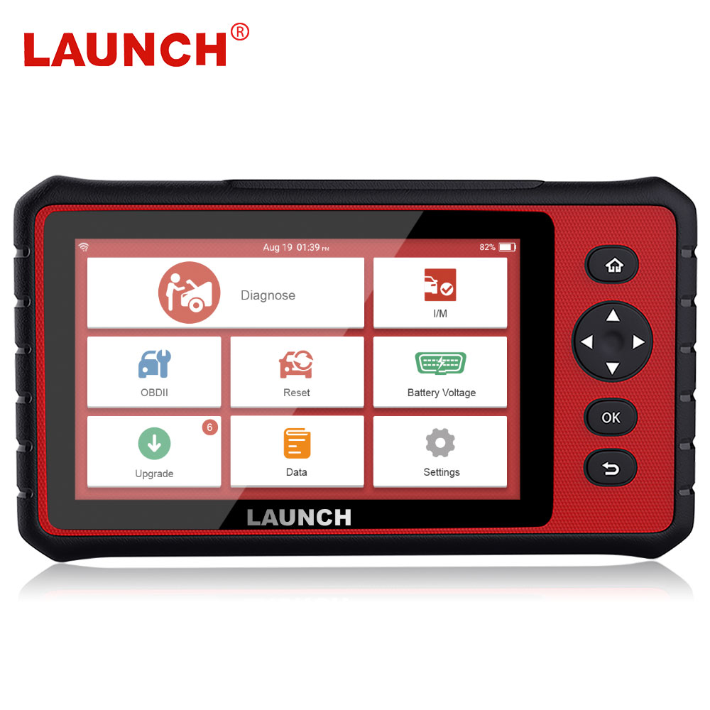 LAUNCH X431 CRP909 OBD2 Full System Car Diagnostic Scanner Airbag SAS TPMS IMMO Reset 15 Reset Functions