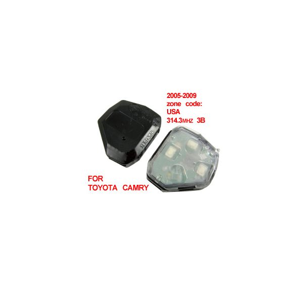 Remote Key for Toyota Camry 3 Button 314.3MHZ (2005-2009)