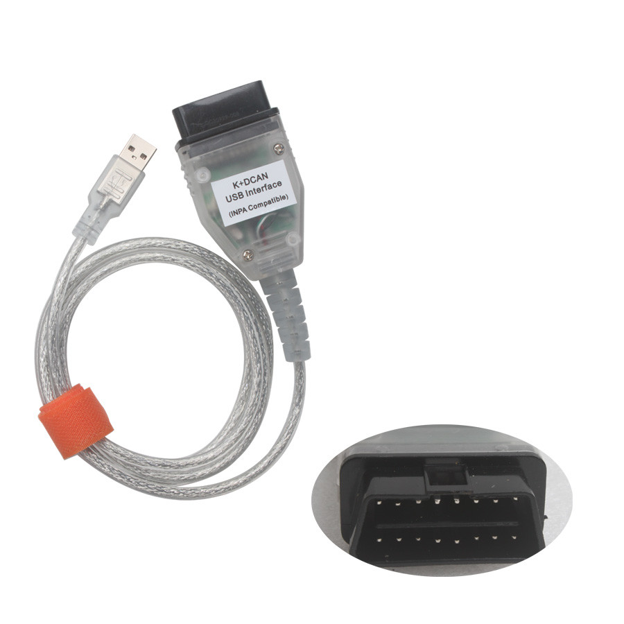 INPA K+CAN Diagnostic Interface for BMW with FT232RL Chip