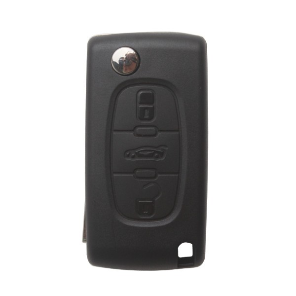 Remote Key for Citroen 3 Buttons 433MHZ HU83 3B( With Groove)