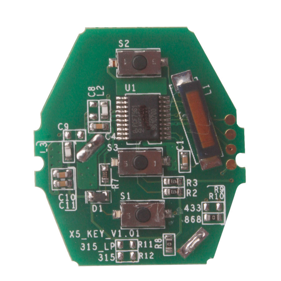 YH Key PCB CAS2 for 03-06 BMW 3/5 Series (without Key Shell) 315/433/868MHZ