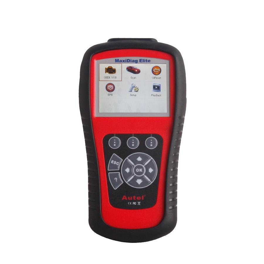 Autel Maxidiag Elite MD701 Code Scanner With Data Stream Function Asia Vehicles For 4 System Update Online