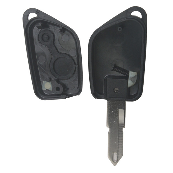 Remote Key Shell for Peugeot 206 2 Button 5pcs/lot