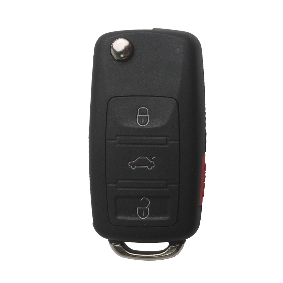 Remote Key Shell for VW Touareg (3+1) Button 5pcs/lot