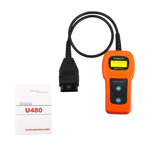 (Ship from US/UK No Tax) U480 OBD2 CAN BUS OBDII Engine Code Reader/Scanner