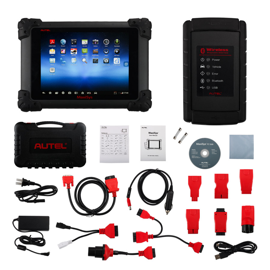 100% Original AUTEL MaxiSys MS908 Diagnostic System Online Update Better Than DS708
