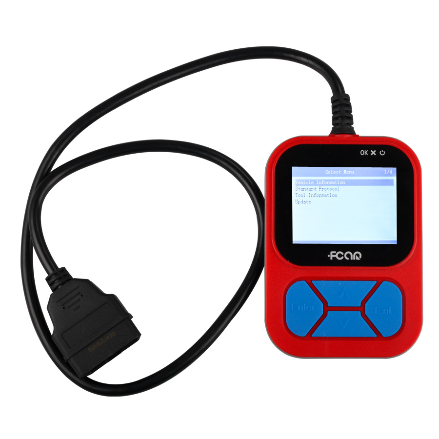 Vehicle Code Reader >> Ship From Us Uk No Tax Original Fcar F502 Heavy Duty Truck Vehicle Code Reader Update Online