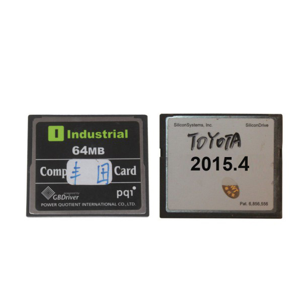 V2016.03 Newest 64MB TF Card for Toyota IT2( Toyota/Suzuki/Blank Card Available for Choose)