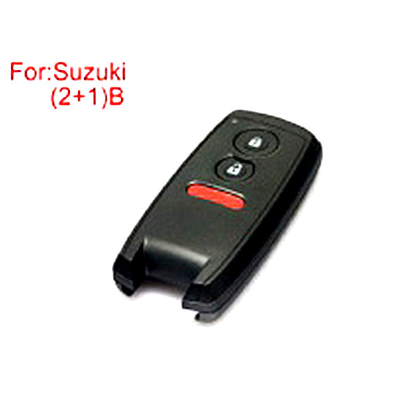2+1 Buttons Remote Key Shell for Suzuki