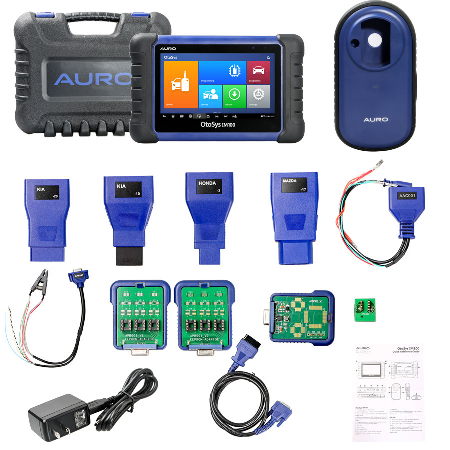 AURO OtoSys IM100 Automotive Diagnostic and Key Programming Tool