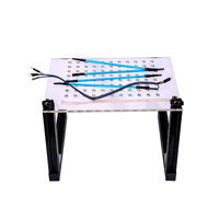 (Ship from US/UK No Tax) LED BDM Frame with Mesh and 4 Probe Pens for FGTECH BDM100 KESS KTAG K-TAG ECU Programmer Tool